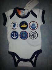 Brand New Pumpkin Patch Baby Bodysuit - Size Prem