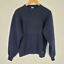 Russell Athletic Mens/Unisex Size M Navy Blue Vintage Sweatshirt Crew Neck
