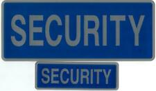 More details for encapsulated reflective security badges sew on or hook & loop
