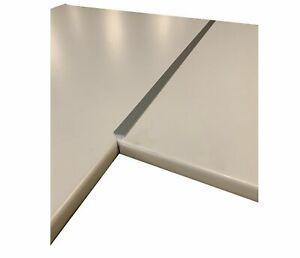 Eckverbindungsschiene Aluminium 28 mm Arbeitsplatten Schiene für Eck Verbindung