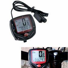 Contachilometri tachimetro bicicletta impermeabile 15 funzioni velocità bici
