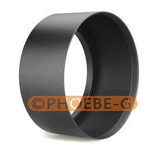 67mm Tele screw in  Metal Black Lens Hood for Canon Nikon Sony Pentax
