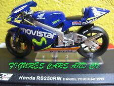 1/24  MOTO GP SERIE 2 HONDA RS 250 RW DANI PEDROSA 2005 MOTORCYCLE