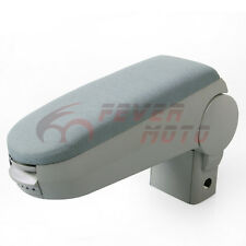 For 1999 -2004 VW MK4 Golf Jetta Bora Cloth Front Center Console Armrest Grey FM