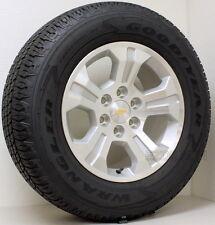 "New Chevy Silverado 1500 Z71 Suburban LTZ 18"" Wheels Rims Goodyear Tires"