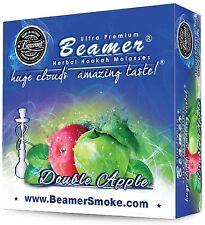 Double Apple Beamer Molasses 50g Hookah Shisha Nargila pipe Tobacco Free