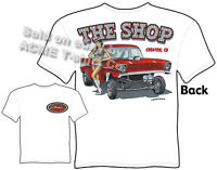 56 Chevy T Shirt 1956 Chevrolet Gasser Tee Classic Car