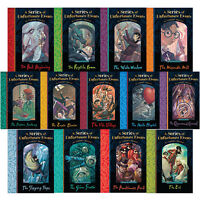 A Series of Unfortunate Events by Lemony Snicket 1-13 Book Collection NEW Set