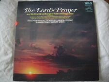 THE LORD'S PRAYER AND 24 OTHER GREAT SONGS OF FAITH AND INSPIRATION 2X VINYL LP