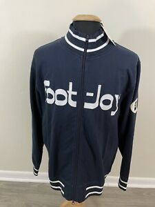 NEW FootJoy Heritage Collection Limited Edition FULL ZIP Sweater Men's Large