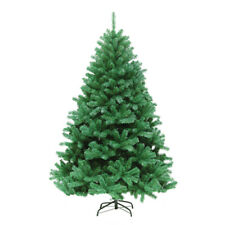 Artificial Christmas Tree Xmas 4FT 6FT 7FT Metal Stand Home Decor Holiday Green