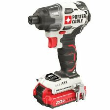 Porter Cable PCCK647LB 20-Volt Lithium-Ion Cordless Brushless Impact Driver Kit
