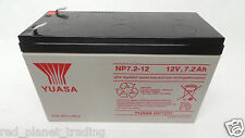 New YUASA NP7.2-12 12V,7.2A ADT ALARM SYSTEM BATTERY REPLACEMENT