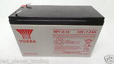10 lot NEW Yuasa NP7.2-12 12V 7.2A Lead Acid Compressor Rechargeable Battery