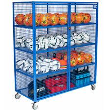 Lockable Sports Equipment Ball Storage Cabinet for Schools