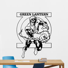 Green Lantern Wall Decal DC Comic Superheroes Vinyl Sticker Decor Mural 114zzz
