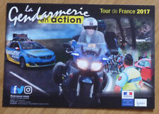 cyclisme - carte Gendarmerie - Tour de France 2017
