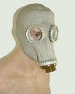 Gasmaske ORIGINAL DDR NVA Maske  GRAU