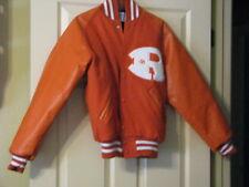 Orange Letter Jacket (Royce City TX) S