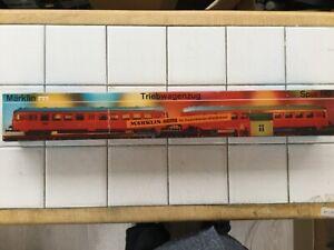 Marklin Hamo HO Gauge 2 Rail DC 8376 DB Class 515 2 Car Diesel Railcar
