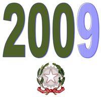 ITALIA Repubblica 2009 Singolo Annata Completa integri MNH ** Tutte le emissioni
