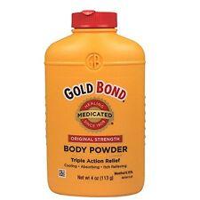 2 Pack - Gold Bond Body Powder, Medicated, Original Strength, 4 oz Each