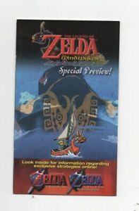 Zelda Windwaker Special Offer Ocarina Majoras Gamecube MANUAL ONLY Authentic