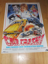 CAR CRASH - Kinoplakat A1 ´83 - MIDNITE SPARES