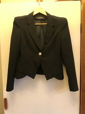 Basque black corporate work blazer size 10 (near new)