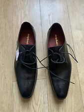 Loake POWERS RIDGE / F Good Year Welted Leather Blk Lace Shoes UK 10 Brand New