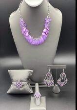 paparazzi jewelry Glimpses of Malibu Purple Fashion Fix set