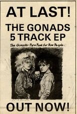 10/4/1982Pg47 Extended Play Advert 7x5, The Gonads