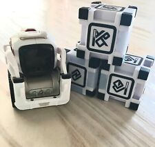 Anki 000-00057 Cozmo Robot Toy - White With 3 Working Cubes. Great Used Cond