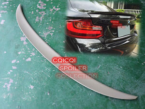 Painted BMW 2014~2019 F22 2-series coupe performance type rear trunk spoiler ◎