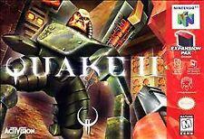 Quake II Nintendo 64 N64 Authentic Video Game Cart Authentic 2 SUPER FAST SHIP!