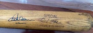 Richie Dick Allen White Sox - Phillies Signed louisville slugger bat jsa