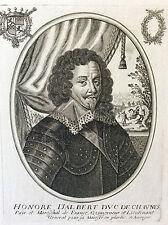 Honoré d'Albert duc de Chaulnes (1581-1649) attr. Balthazar MONTCORNET XVIIe