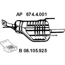 EBERSPÄCHER Original Endschalldämpfer 674.4.001 Opel Astra G CC