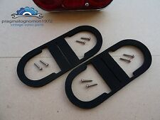 VOLVO P 1800 FOAM GASKETS KIT WITH MIRROR FINISH STAINLESS STEEL SCREWS
