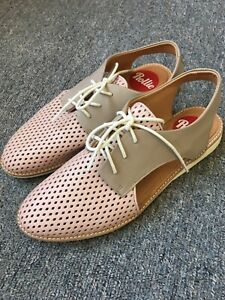 Rollie Shoes Slingback Punch Blush Stone Size 40