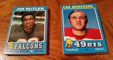 1971 TOPPS FOOTBALL GROUP OF 41 CARDS - VERY GOOD to EXCELLENT