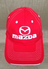 Red Mazda  5 Panel Embroidered Hat Ball Cap One Size