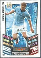 TOPPS MATCH ATTAX 2012-13- #124-MANCHESTER CITY-EDIN DZEKO