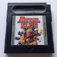 Metal Slug Nintendo Gameboy Color Videogame