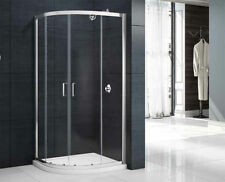MERLYN MBOX Two Door Quadrant Shower Cubicle Enclosure 900mm Easy Clean Glass