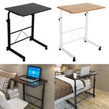 Sofatisch Schreibtisch Pflege einstellbar Laptoptisch Computertisch mit Rollen