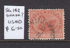 W.A.: 4d Brown Shade? Swan Sg 142? Wmk C Over A Fine Used.