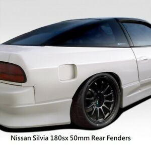 Nissan Silvia 180sx M1 Style 50mm Wide Body Rear Fender Guards