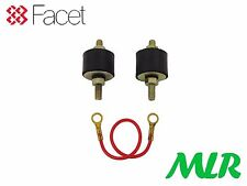 FACET FUEL PUMP FITTING KIT MOUNTS RUBBER INSULATORS & EARTH STRAP MLR.FI