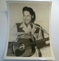 Rare VINTAGE VERN YOUNG Hand Signed AUTOGRAPH Country Western PHOTO